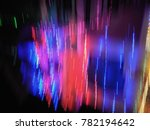 multicolor abstract lights in... | Shutterstock . vector #782194642