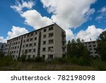 the view of old abandoned... | Shutterstock . vector #782198098