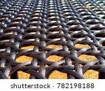 wicker pattern texture close up.... | Shutterstock . vector #782198188