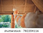 paper peonies as outdoors... | Shutterstock . vector #782204116