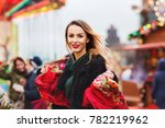outdoors lifestyle portrait of... | Shutterstock . vector #782219962