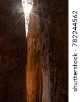 sunbeams shining through the...   Shutterstock . vector #782244562