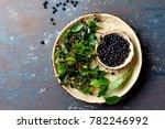 superfood maqui berry.... | Shutterstock . vector #782246992