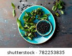 superfood maqui berry....   Shutterstock . vector #782253835