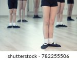 close up of children's ballet... | Shutterstock . vector #782255506