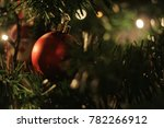 christmas tree decorations | Shutterstock . vector #782266912