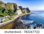 the eastern coast of northern... | Shutterstock . vector #782267722