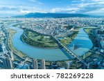 Taipei City Aerial View   Asia...