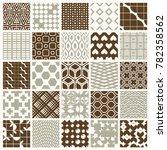 graphic vintage textures... | Shutterstock . vector #782358562