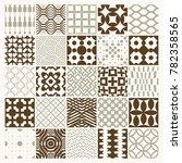 graphic vintage textures... | Shutterstock . vector #782358565