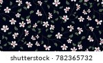 seamless floral pattern in... | Shutterstock .eps vector #782365732