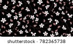 seamless floral pattern in... | Shutterstock .eps vector #782365738