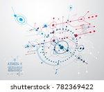 industrial and engineering... | Shutterstock . vector #782369422