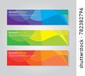 banner background modern vector ... | Shutterstock .eps vector #782382796