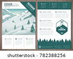 outdoors flyer design with... | Shutterstock .eps vector #782388256