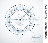 engineering technological... | Shutterstock . vector #782391592