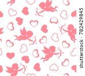 valentine's day. vector... | Shutterstock .eps vector #782429845