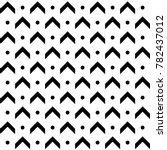 abstract monochrome arrow dan... | Shutterstock .eps vector #782437012