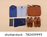 men's mans fashion and... | Shutterstock . vector #782459995
