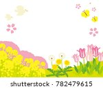 spring landscape of... | Shutterstock .eps vector #782479615