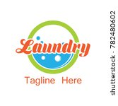 laundry logo  emblems and... | Shutterstock .eps vector #782480602