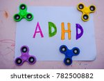 play therapy for adhd kids ... | Shutterstock . vector #782500882