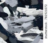 oil painting on canvas handmade....   Shutterstock . vector #782521072