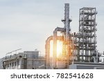 industrial zone the equipment... | Shutterstock . vector #782541628