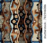 ornate seamless texture... | Shutterstock .eps vector #782546086