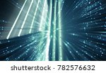 abstract blue background.... | Shutterstock . vector #782576632
