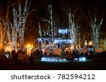 zagreb  croatia   december 26.  ... | Shutterstock . vector #782594212