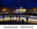 zagreb  croatia   december 26.  ... | Shutterstock . vector #782594215