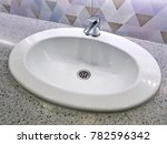 chrome plated faucet with... | Shutterstock . vector #782596342