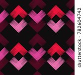 ethnic boho seamless pattern.... | Shutterstock .eps vector #782604742