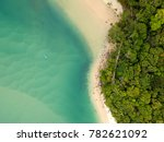tallebudgera creek from the air. | Shutterstock . vector #782621092
