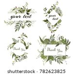 wedding invite  invitation menu ... | Shutterstock .eps vector #782623825