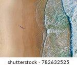 beach from above. | Shutterstock . vector #782632525