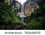 Purling Brook Falls, Gold Coast, Queensland, Australia.