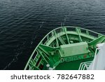 bow of the ferry autumn cruise... | Shutterstock . vector #782647882