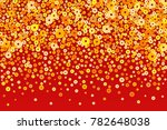 vector golden chinese new year... | Shutterstock .eps vector #782648038