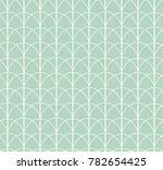 Stock vector vintage art deco seamless pattern geometric decorative texture vector floral background 782654425