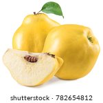 Apple Quince And Piece Of...