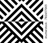 seamless pattern with striped... | Shutterstock .eps vector #782657005