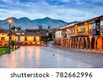 Cusco Peru Plaza De Armas - Fine Art prints