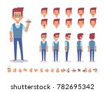 designer character for your... | Shutterstock .eps vector #782695342