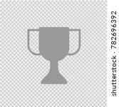 trophy cup vector icon eps 10. | Shutterstock .eps vector #782696392