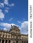 Paris   May 8  Facade Of Louvr...