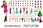 isometric character constructor ...   Shutterstock .eps vector #782719708
