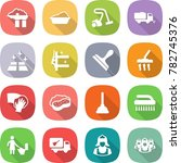 flat vector icon set   factory... | Shutterstock .eps vector #782745376