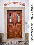 typical recovered door in a...   Shutterstock . vector #782745586